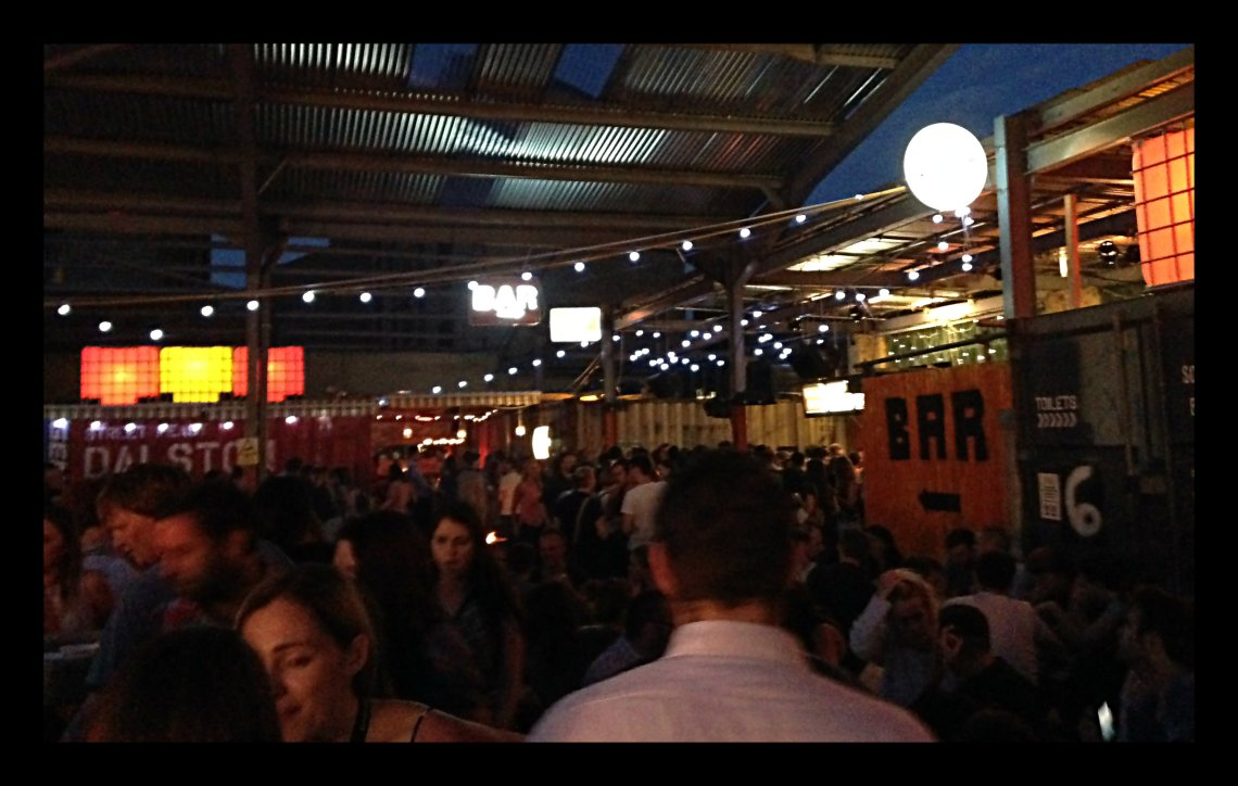 Crowd at Street Feast