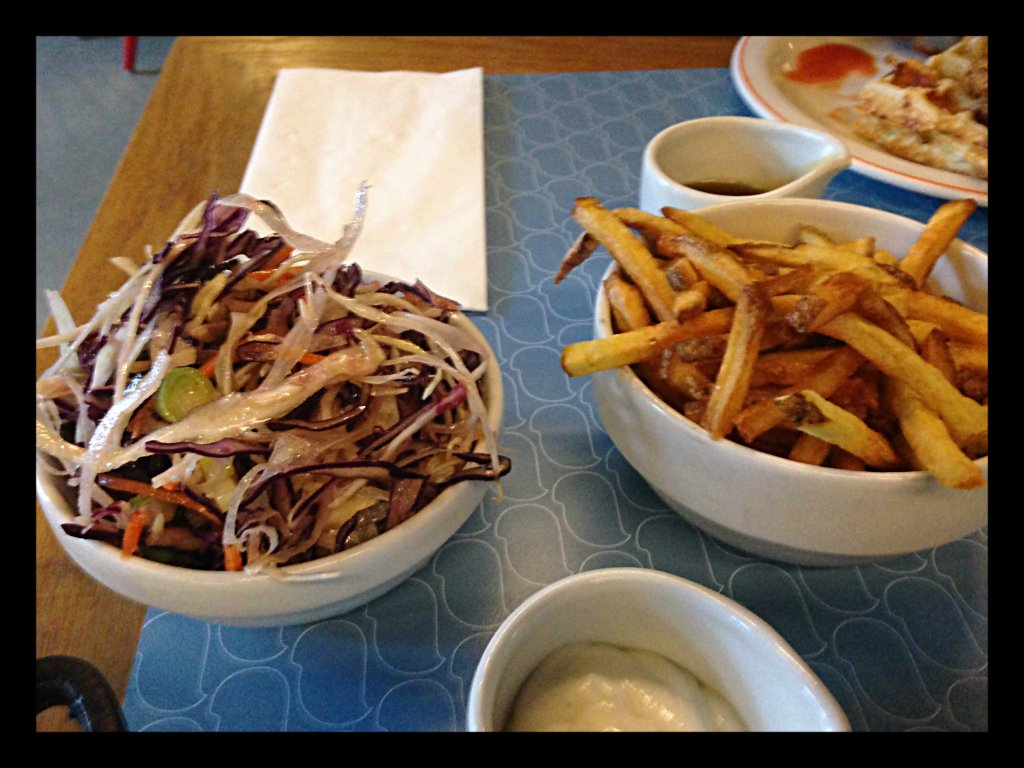 Slaw and Fries