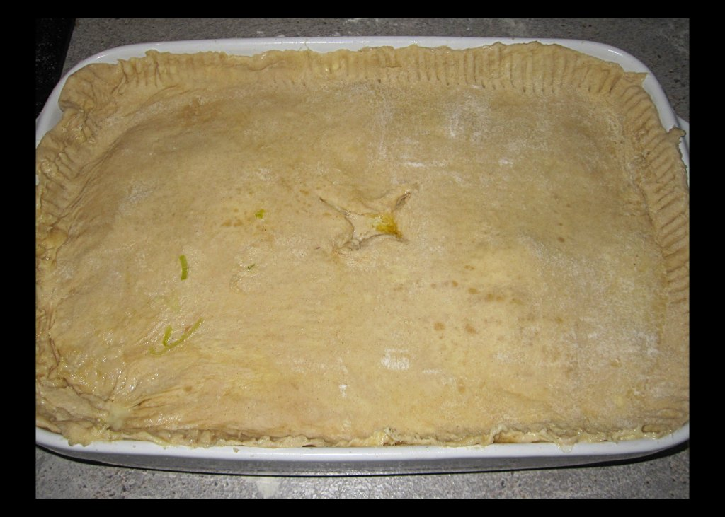 pie before being cooked