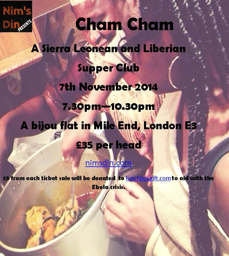 Flyer for Cham Cham