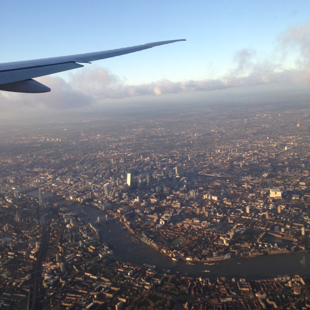 London from the skies!