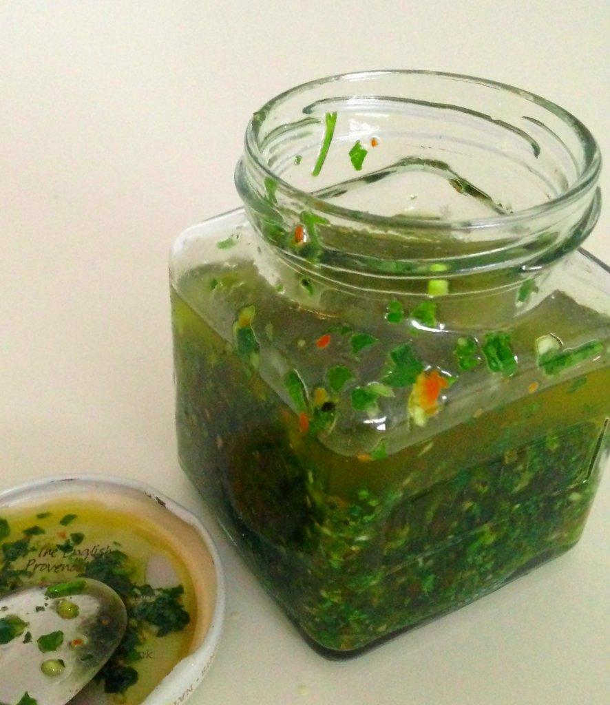 P, G, & SB in a jar