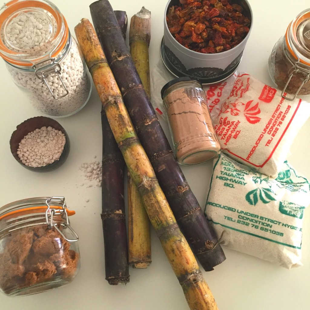Hoard of ingredients liberia